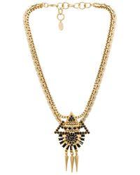 Elizabeth Cole - Metallic Krieger Necklace - Lyst