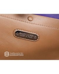 Ralph Lauren - Brown Preowned Tan Leather Soft Ricky 33 Bag - Lyst