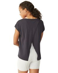 Alternative Apparel - Black Stand Out Tissue Slub T-shirt - Lyst