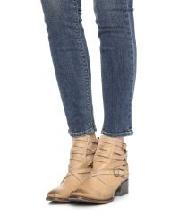 Freebird by Steven - Brown Stair Booties - Lyst