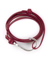 Miansai   Metallic Large Hook Bracelet   Lyst