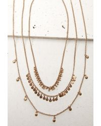 Forever 21 - Metallic Circle Charm Necklace Set - Lyst
