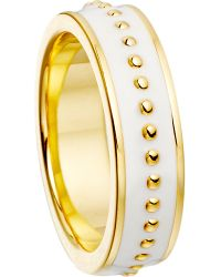 Astley Clarke | Metallic Stilla Sea Shell Beaded Ring | Lyst
