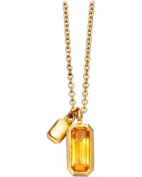 Astley Clarke - Metallic 18ct Gold Vermeil Prismic Necklace - Lyst
