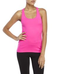 90 Degree By Reflex | Pink Racerback Performance Tank | Lyst