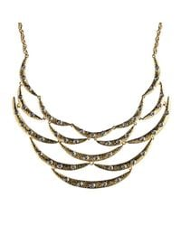 Alexis Bittar | Green Vert Deau Three-Part Encrusted Lucite Bib Necklace | Lyst
