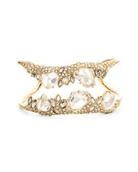 Alexis Bittar | Metallic Jagged Diamond Cluster Cuff You Might Also Like | Lyst