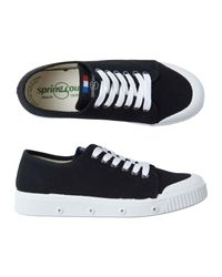 Toast | Black Spring Court Plimsoll | Lyst