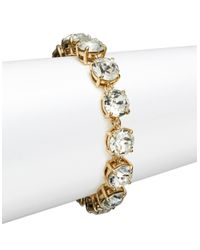 kate spade new york | Metallic Fancy That Crystal Bracelet | Lyst