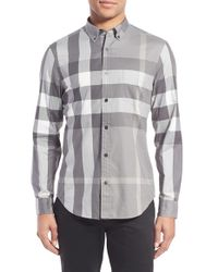 Burberry - Multicolor Fred Check Sport Shirt for Men - Lyst