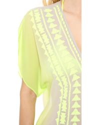 MILLY - Yellow Anguilla Crochet Tunic - Lyst