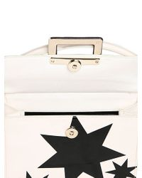 Roger Vivier - Black Miss Viv Stars Patent Leather Bag - Lyst