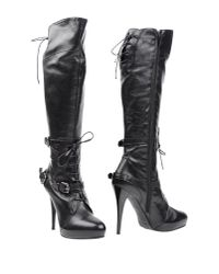 Sgn Giancarlo Paoli - Black Boots - Lyst