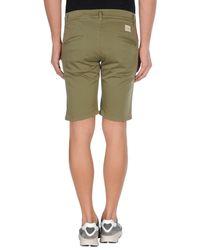 Daniele Alessandrini - Green Bermuda Shorts for Men - Lyst