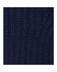 Acne Studios - Blue Loyal Wool Sweater - Lyst