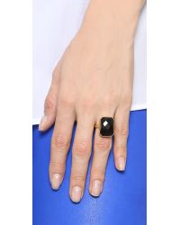 Ringly | Stargaze Tech Ring - Black Onyx | Lyst