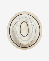 Genie by Eugenia Kim   White Edie Striped Fedora   Lyst