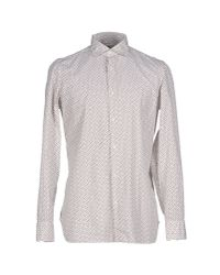 Luigi Borrelli Napoli - White Shirt for Men - Lyst
