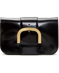 Stella McCartney - Black Polished Cambridge Bag - Lyst