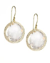 Ippolita | Metallic Clear Rock Candy Lollipop Earrings | Lyst