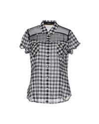 Guess - Black Shirt - Lyst
