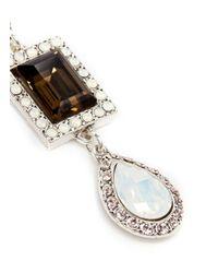 Philippe Audibert - Metallic 'elea' Crystal Opal Drop Earrings - Lyst