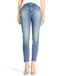 Madewell - Blue 'perfect Fall' Jeans - Lyst