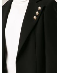 Versus - Black Long Blazer - Lyst