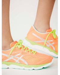 Free People | Orange Asics Womens Fa-33 Trainer | Lyst