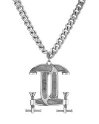 Moschino - Metallic Statement Necklace - Lyst