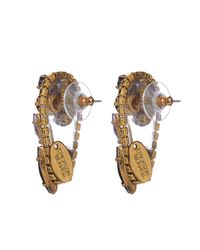 Erickson Beamon - Black Hyperdrive Earrings - Lyst