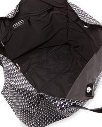 Lyst - Prada Men s Octagon-print Nylon Tote Bag 365b13269c3d4