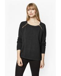 French Connection | Black Autumn Vhari Jumper | Lyst