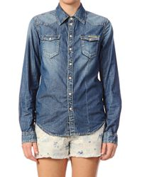Pepe Jeans - Blue Shirt Blouse Rosie - Lyst