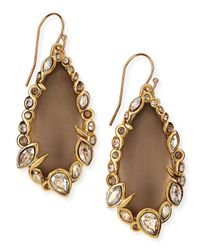 Alexis Bittar - Gray Lucite Drop Earrings - Lyst