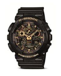 G-Shock   Black G-shock Xl Camouflage Pattern Ana-digi Watch for Men   Lyst