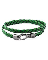 Tod's | Green 'My Colours' Bracelet | Lyst