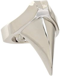 Dominic Jones | White Gold Claw Ring | Lyst