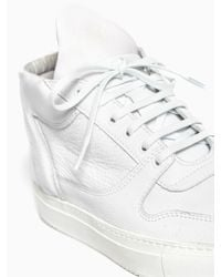 Filling Pieces - White Mid Top Sneakers for Men - Lyst