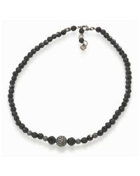 Carolee | Black Graduated Jet And Crystal Fireball | Lyst