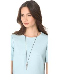 Gabriela Artigas - Black Victorian Tusk Pendant Necklace - Lyst