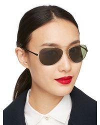 Kate Spade   Metallic Avaline Sunglasses   Lyst