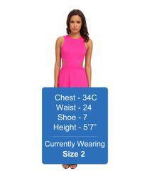 Amanda Uprichard - Pink Wallis Dress - Lyst