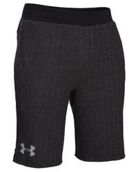 Under Armour | Black Men's Rival Printed Shorts for Men | Lyst