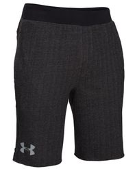 Under Armour - Black Men's Rival Printed Shorts for Men - Lyst