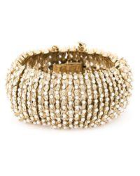 Givenchy | Metallic Embellished Segmented Cuff | Lyst