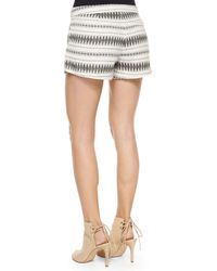 Joie - Natural Merci Low-rise Multi-print Shorts - Lyst