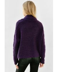 Kimchi Blue | Purple Divya Cowl-neck Top | Lyst