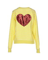 De'Hart - Yellow Sweatshirt - Lyst