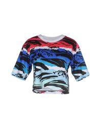 KENZO - Blue T-shirt - Lyst